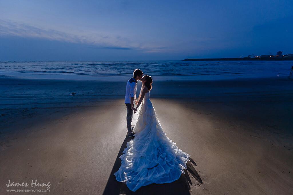 自助婚紗,傳統婚紗,戶外婚紗,主題婚紗,野外婚紗,大屯花卉農場,沙崙海水浴場